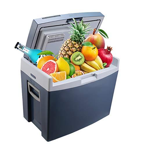 Car Refrigerator 35L Auto KüHlschrank/Auto Heizung Und KüHlbox/Inkubator / Kleiner KüHlschrank - Keramik Blau -