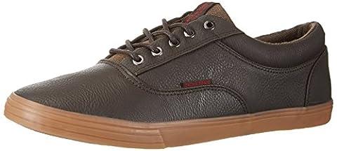 JACK & JONES Herren Jfwvision PU Java Sneaker, Braun (Java), 44 EU