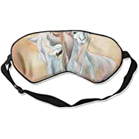 Sleep Eye Mask Camel White Lightweight Soft Blindfold Adjustable Head Strap Eyeshade Travel Eyepatch E12 preisvergleich bei billige-tabletten.eu