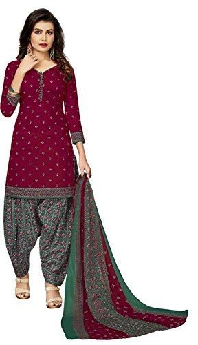 fashion ritmo Women\'s Cotton Dress Material (Ritmo_28 _Multicolor_ Free Size)