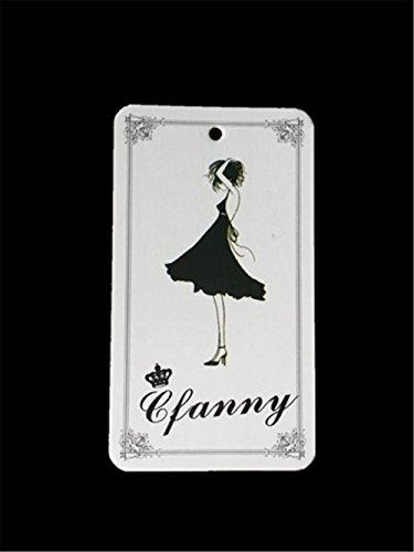 Cfanny Sexy découpe Bandage Robe Moulante Noir et blanc