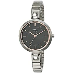 Titan Raga Viva Analog Grey Dial Women's Watch