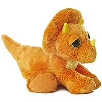 Aurora World 21251 - Dreamy Eyes Triceratops Dinosaurier 12In/30.5 cm, orange