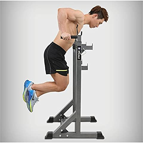 LMZZGAOYANQING Squat rack bench press barbell frame multi - functional parallel bar home fitness equipment pull - up device