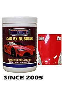 INDOPOWER HDFFFf818-CAR Wax 5X RUBBING 1kg.