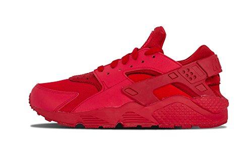 Nike Air Huarache Herren Turnschuhe Rojo (Varsity Red / Vrsty Red-Vrsty Rd)