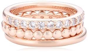 Bronzallure Damen-Ring Bronze kombinierbar Gewicht 6,5g Gr. 52 (16.6) WSBZ00283-12