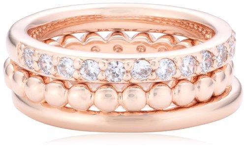 Bronzallure Damen-Ring Bronze kombinierbar Gewicht 6,5g Gr. 54 (17.2) WSBZ00283-14