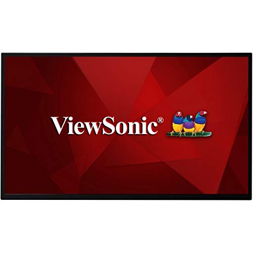 Viewsonic CDE3205-EP 80 cm (32 Zoll) Digital Signage Display (Full-HD, IPS-Panel, HDMI, DVI, USB, VGA, LAN, Mediaplayer, Lautsprecher) Schwarz Viewsonic 32