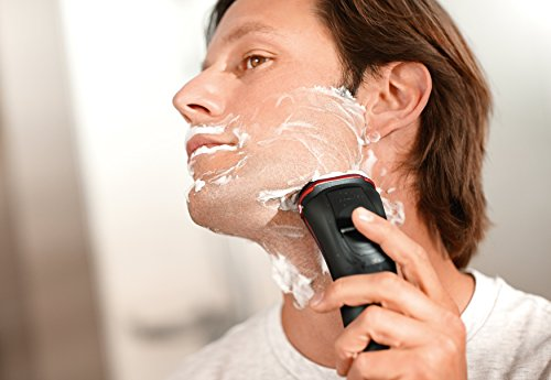 Philips Series 3000 Wet & Dry Men's Electric Shaver S3580/06 with Pop-up Trimmer (2-Pin UK Bathroom Plug)
