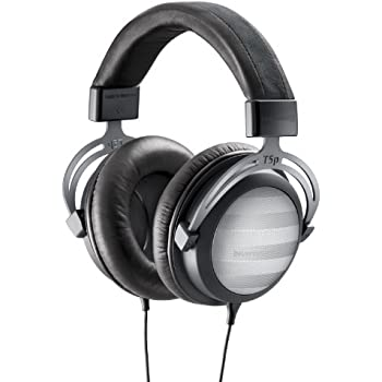 Beyerdynamic T5p Wired Headset for Smartphone/MP3 Devices-Black/Grey