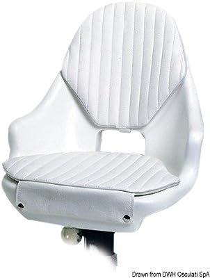 Osculati 48.670.06 - Sedile compact con cuscini (Bucket seat w/cushions)
