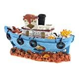 Lykke. Aquarium Spawn Boot décoratif de qualité supérieure pour Aquarium