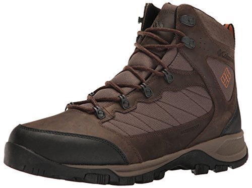 Columbia Cascade Pass Waterproof, Botas de Senderismo para Hombre, Marrón (Major/Bright Copper), 43 EU
