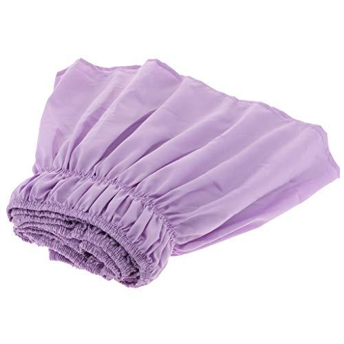 F Fityle Polyester Bettvolant Bettrock Bett Rock Volant Bed Wrap, Auswahl - Helllila - Voll Voller Rock Wrap
