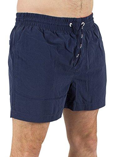 Fila Vintage Homme Logo Artoni eau Swim Shorts, Bleu Bleu