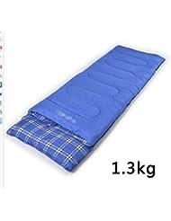 Sacos De Dormir Al Aire Libre Camping Para Adultos Camping Bolsas De Dormir Invierno Solo Se Puede Coser Bolsas De Dormir Doble,Blue