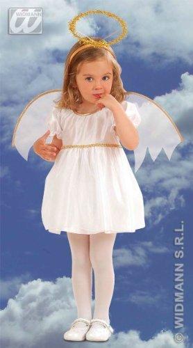Widmann 4933G - Engel-Kostüm für Mädchen, 2-3 Jahre
