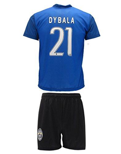 conjunto-equipacion-camiseta-jersey-azul-futbol-juventus-paulo-dybala-21-replica-autorizado-10-anos