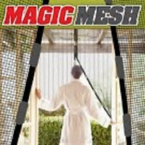 Magic Mesh Magnetic Door Curtain Insect Protection