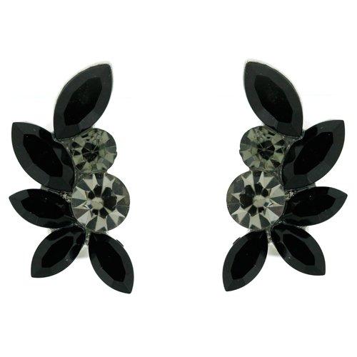 clip-sur-boucles-doreilles-diamant-noir-et-jet-ranger-feuille-cristal-swarovski-clip-sur-boucles-dor