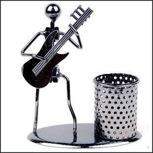 Design Eisen Stiftetui Wohnaccessoires Ornaments minimalistischen modernen Praktische Kleine Geschenke Basteln gitarre (Gitarren-ornamenten)