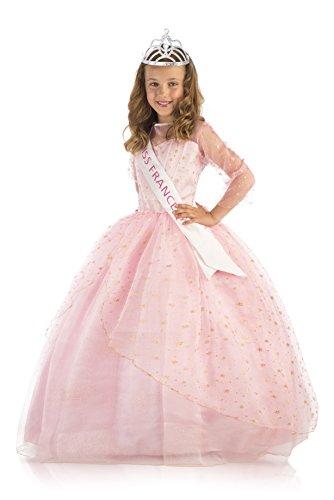 Kostüm Frankreich Miss - Miss Frankreich 430257Koffer Deluxe Kostüm + Zubehör, 5-7Jahre