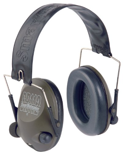 SMARTRELOADER SR112 CASCOS ELECTRONICOS STEREO ULTRA-SLIM  BANDA DE ACERO INOXIDABLE  PLUG DE 3 5MM PARA WALKIE-TALKIE O MP3 [OD-GREEN]