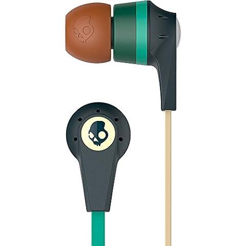 Skullcandy Explore More - Auriculares in-ear con micrófono integrado, color gris, turquesa, marrón y