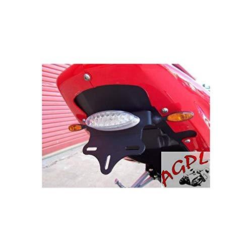 HYOSUNG 125-650 GT GTR COMET-04/08 - SUPPORT DE PLAQUE R&G Racing- LP0036BK