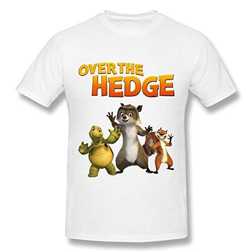 YungGoo T-shirt  Herren T-Shirt Gr. xs, Schwarz - Weiß