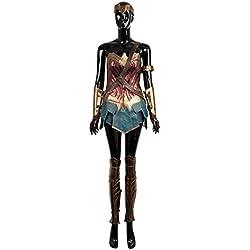 cosplayfly Wonder Woman disfraz de cosplay para adultos tamaño