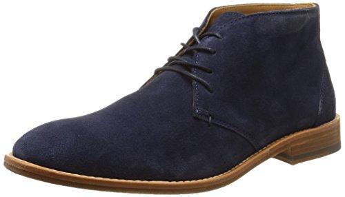Sebago Collier Chukka, Herren Chukka Boots, Blau (Navy Suede), 46 EU