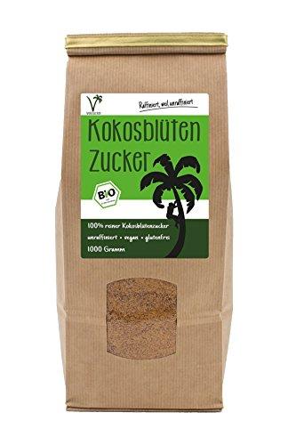 Image of Kräuterladen Kokosblütenzucker Bio (1 x 1kg) | Aus fairem Handel
