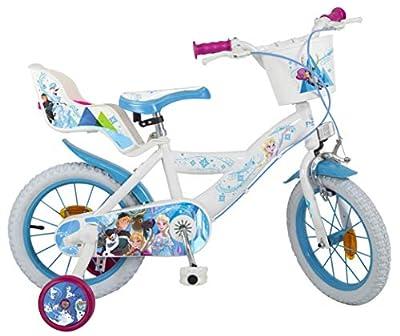 "Jugatoys Bicicleta 14"" Frozen 4/7 AÑOS de Jugatoys"