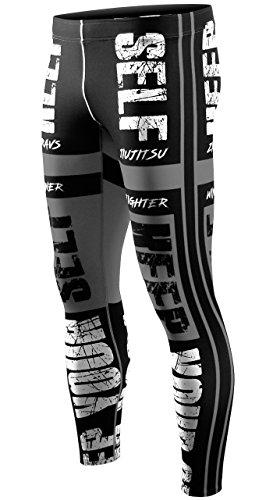 Zipravs Compression Tight Hose Herren Damen Fitness MMA Running Lang Hosen (Hose Flow Air)