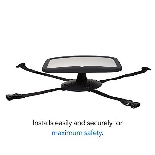 monitor trasero ajustable para la seguridad del beb/é extra grande Espejo retrovisor de beb/é para coche California Basics con vista frontal amplia