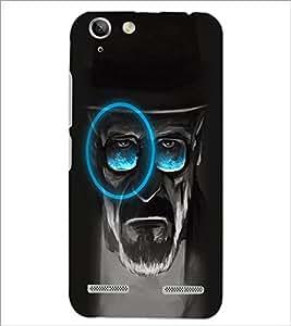 PrintDhaba Mature Man D-2973 Back Case Cover for LENOVO A6020a46 (Multi-Coloured)