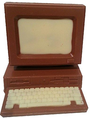 06#121519 Schokolade Computer klein, Vollmilch, Schokolade, PC, Technik, Schule, Weihnachten, Geschenk, Büro,