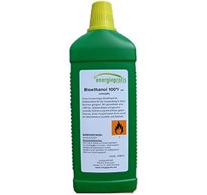 5 Liter HIGH QUALITY Bioethanol 100% Unser hochwertiges Bioethanol ist insbesondere für die Verwendung in Ethanol - Kaminen geeignet. Wir garantieren Ihnen einen Ethanolgehalt von 100% vol, sowie eine rußfreie, rückstandslose und geruchsneutrale Verb...
