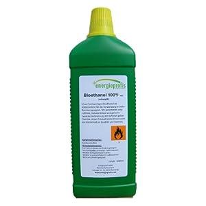 energieprofis 30 L (30x1L) Bio Alkohol 100% Ethanol BIOETHANOL Kamin