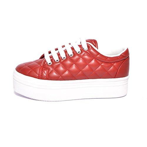 Jeffrey Campbell , Damen Sneaker Bordeaux