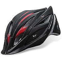LBAFS Casco De Bicicleta Inteligente con Auriculares Bluetooth Música Profesional Casco De Ciclismo Equipo De Bicicleta