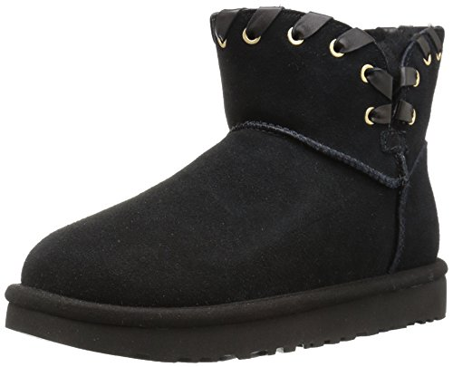 H MINI, Damen Schneestiefel, Black (Black Blk), 40 EU (7.5 UK) ()