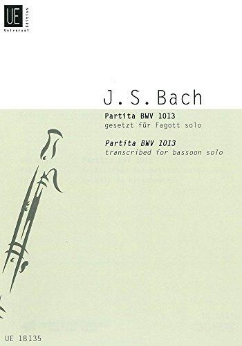 Partita BWV1013 : für Fagott solo