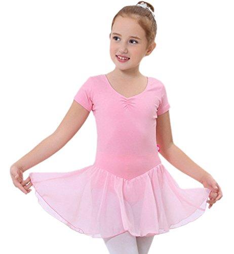 Happy Cherry - Falda Vestido Tutú de Danza Ballet infantil para Niñas...