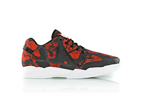 K1 x tutte le Sneaker 0101-9909 Rose netto, Rosso (Rouge - Roses), 46