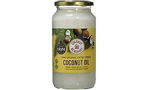 Coconut Merchant Organic Raw Extra Virgin Coconut Oil, 1 Litre