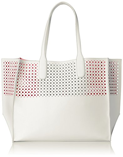 emilie-m-la-mar-perforated-tote-women-white-tote