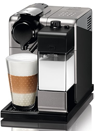 DeLonghi  Nespresso Lattissima Touch Silver Coffee Pod Machine(EN550.S)